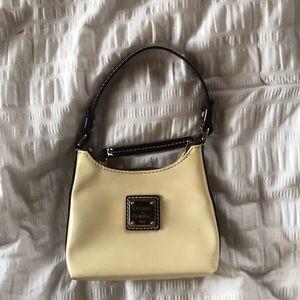 Mini cream Dooney & Bourke purse